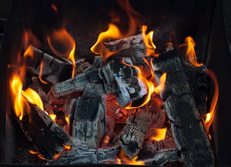 ξυλάνθρακας στοκ φωτογραφίες
