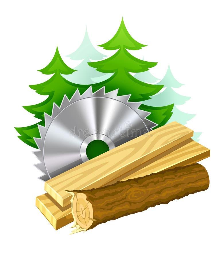 ξυλουργική βιομηχανίας & απεικόνιση αποθεμάτων