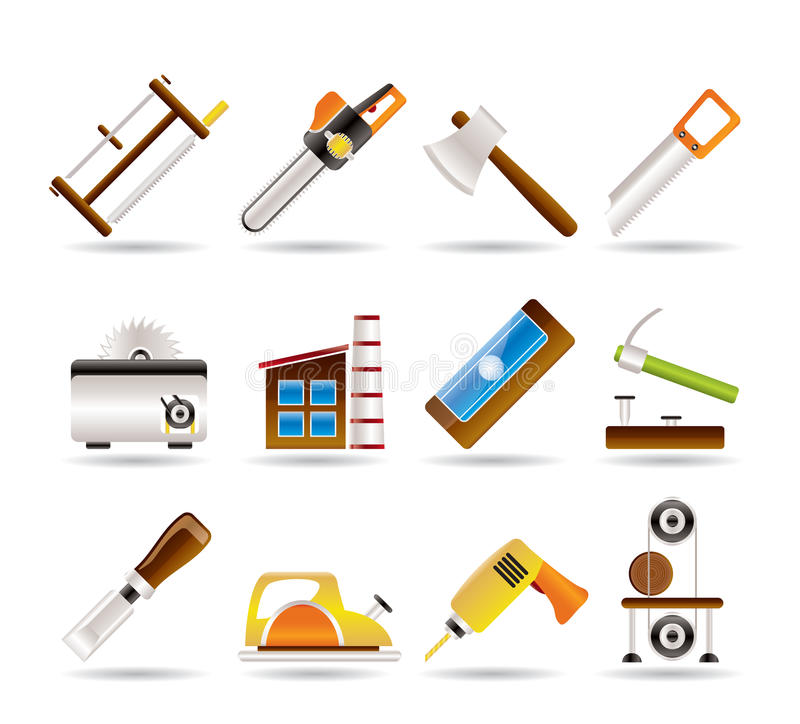 ξυλουργική εργαλείων β ελεύθερη απεικόνιση δικαιώματος