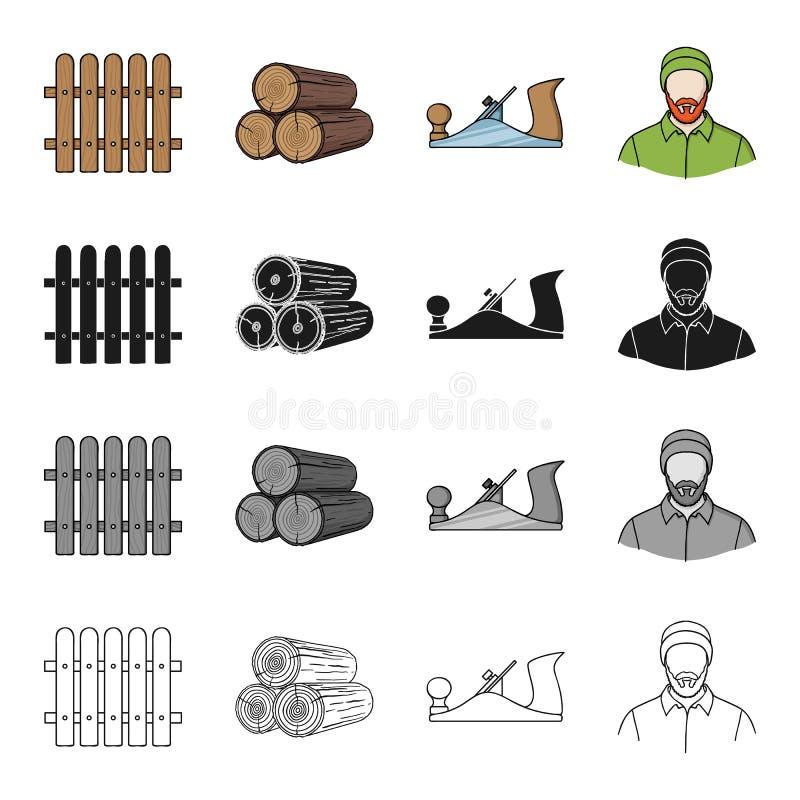 ξυλουργική απεικόνιση αποθεμάτων