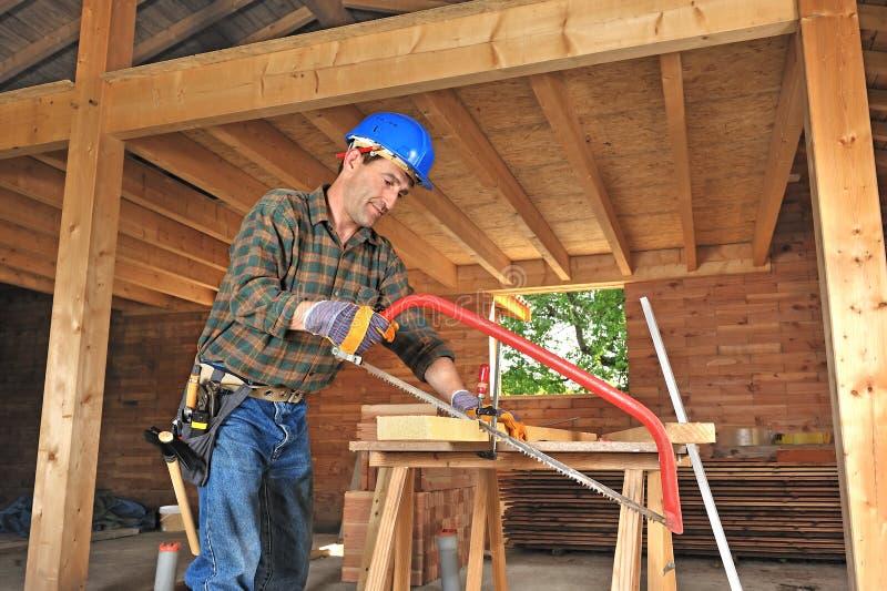 ξυλουργός δύο στοκ φωτογραφίες