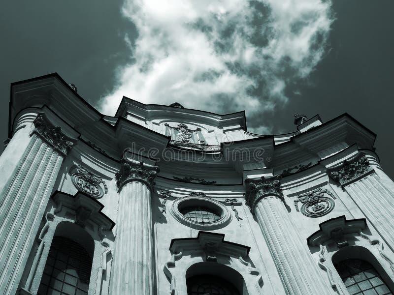 ξυπόλυτος καθεδρικός ν&al στοκ φωτογραφία