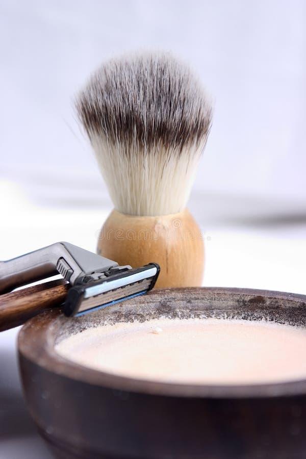 ξυράφι βουρτσών στοκ φωτογραφία με δικαίωμα ελεύθερης χρήσης
