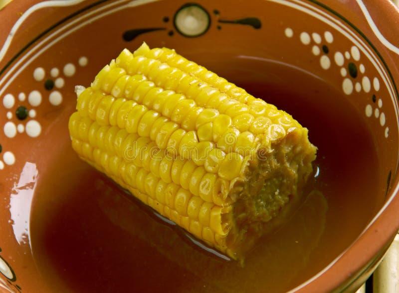 Ξυστρισμένο καρύδα καλαμπόκι στοκ φωτογραφία με δικαίωμα ελεύθερης χρήσης