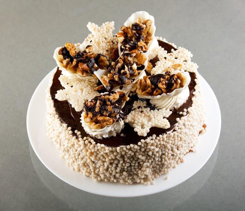 ξύλα καρυδιάς κέικ στοκ εικόνες με δικαίωμα ελεύθερης χρήσης