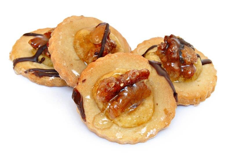 ξύλα καρυδιάς μπισκότων στοκ εικόνα με δικαίωμα ελεύθερης χρήσης