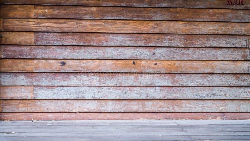 Ξύλινες παλαιές επιτροπές υποβάθρου σύστασης στοκ φωτογραφία