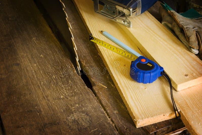 ξύλινη εργασία ανασκόπηση&si στοκ εικόνα