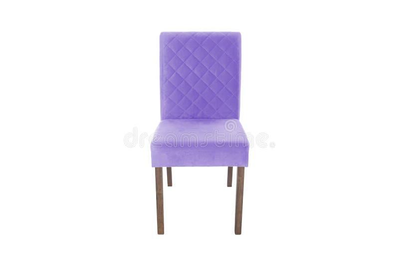 Ξύλινη καρέκλα χρώματος Αντικείμενο που απομονώνεται του λευκού στοκ φωτογραφία με δικαίωμα ελεύθερης χρήσης
