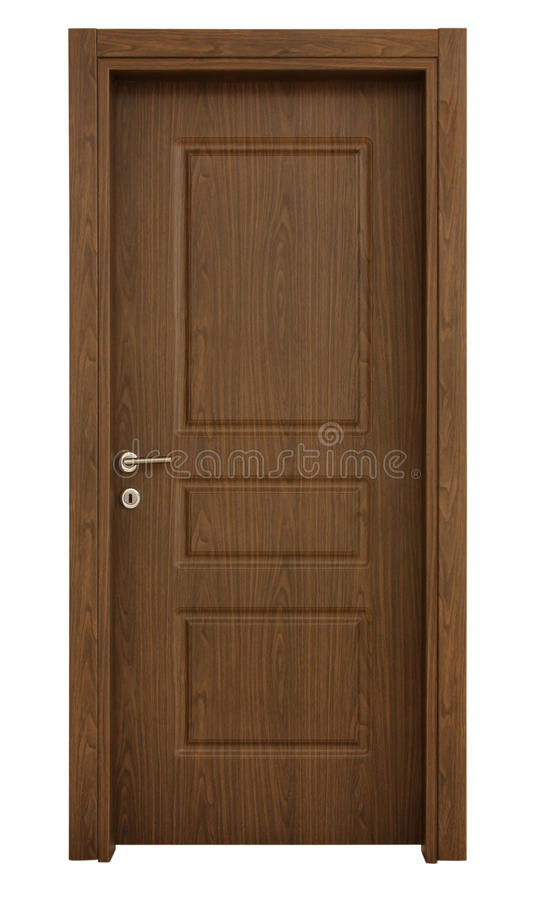 Ξύλινη πόρτα στοκ εικόνες με δικαίωμα ελεύθερης χρήσης