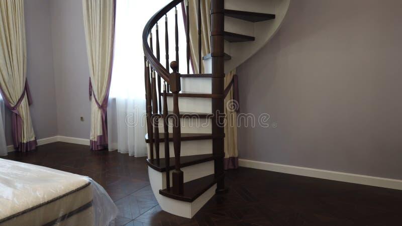 Ξύλινη σκάλα στοκ φωτογραφίες με δικαίωμα ελεύθερης χρήσης