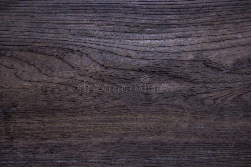 Ξύλινη σύσταση Επιφάνεια του σκοτεινού ξύλινου υποβάθρου για το σχέδιο και το Δεκέμβριο στοκ εικόνα