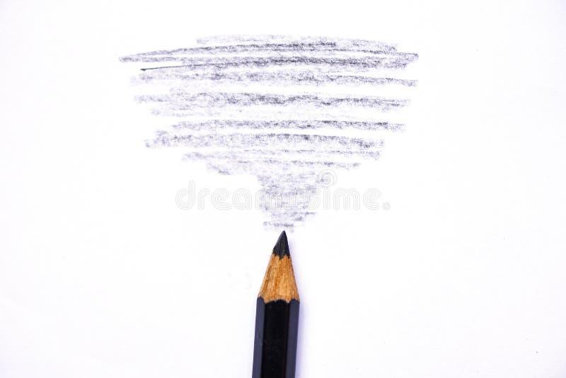 Ξύλινη σύσταση κραγιονιών με τα κυανά μαύρα σχέδια στη Λευκή Βίβλο στοκ φωτογραφίες
