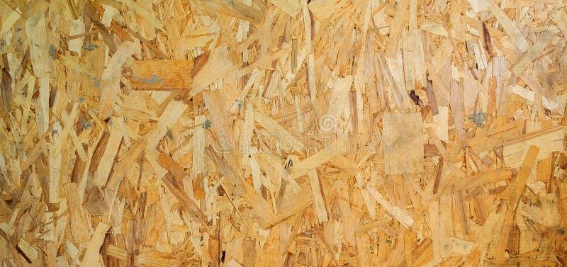 Ξύλινη σύσταση Ξύλινος πίνακας Osb για τη διακόσμηση υποβάθρου στοκ εικόνες
