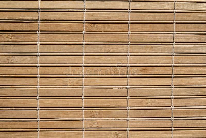 Ξύλινη σύσταση σχεδίων τυφλών ύφους μπαμπού σε καλή κατάσταση στοκ εικόνα με δικαίωμα ελεύθερης χρήσης