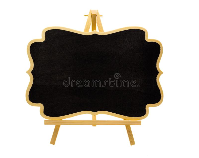 Ξύλινος κενός μίνι easel πίνακας στοκ φωτογραφίες με δικαίωμα ελεύθερης χρήσης