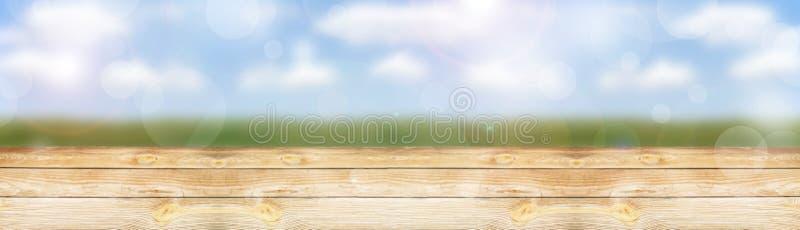 Ξύλινος πίνακας στοκ φωτογραφία