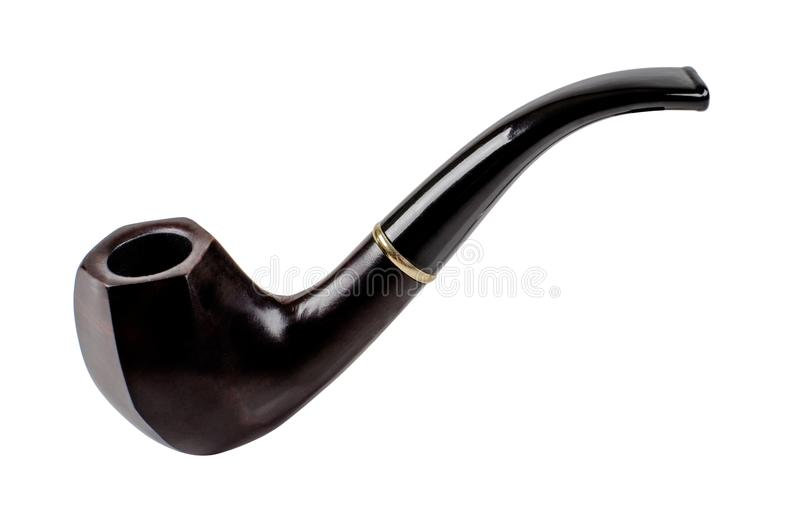 Ξύλινος σωλήνας καπνών στοκ εικόνες με δικαίωμα ελεύθερης χρήσης
