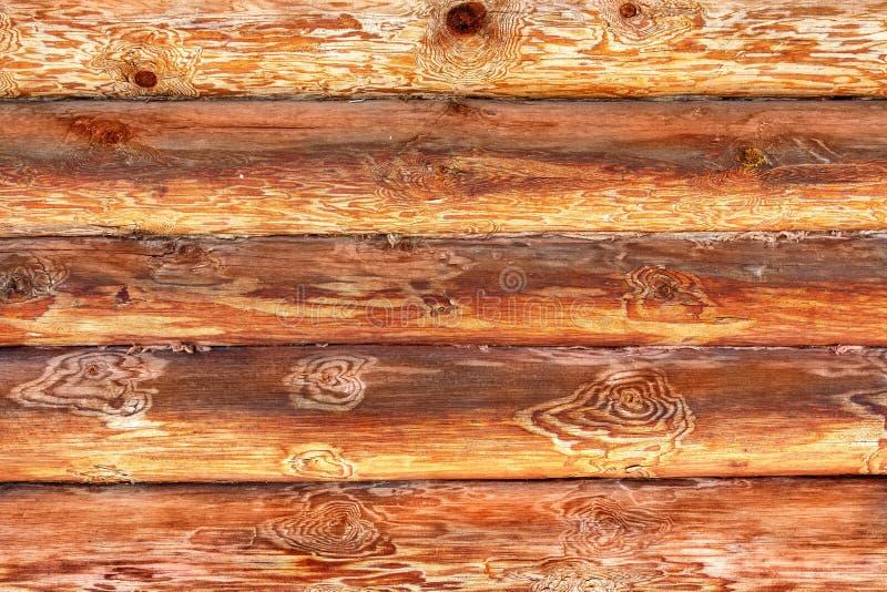 Ξύλινος τοίχος από τα κούτσουρα παλαιό παράθυρο σύστασης λεπτομέρειας ανασκόπησης ξύλινο στοκ φωτογραφία με δικαίωμα ελεύθερης χρήσης