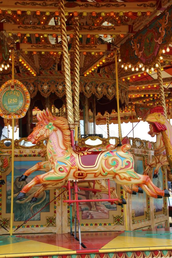 Ξύλινο άλογο ιπποδρομίων στοκ εικόνες