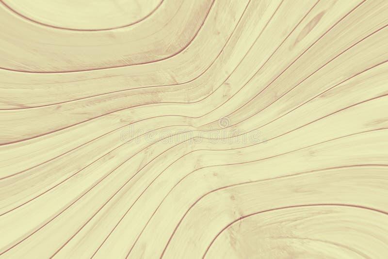 Ξύλινο αφηρημένο υπόβαθρο σχεδίων που παραμορφώνεται γραφικός διανυσματική απεικόνιση