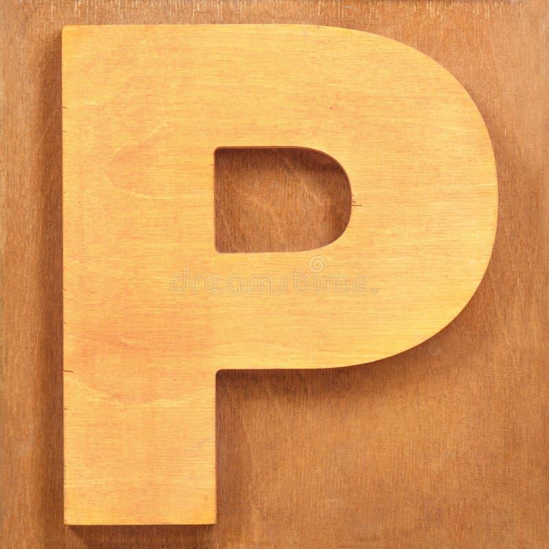 Ξύλινο γράμμα Ν στοκ εικόνα με δικαίωμα ελεύθερης χρήσης