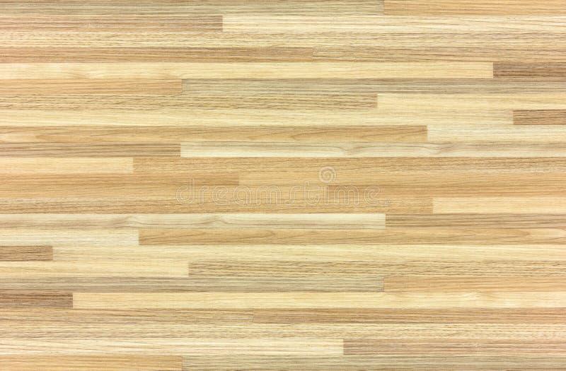 Ξύλινο δάπεδο παρκέ με το διαμορφωμένο ξύλο για τα σχέδια επιφάνειας και υποβάθρου απεικόνιση αποθεμάτων