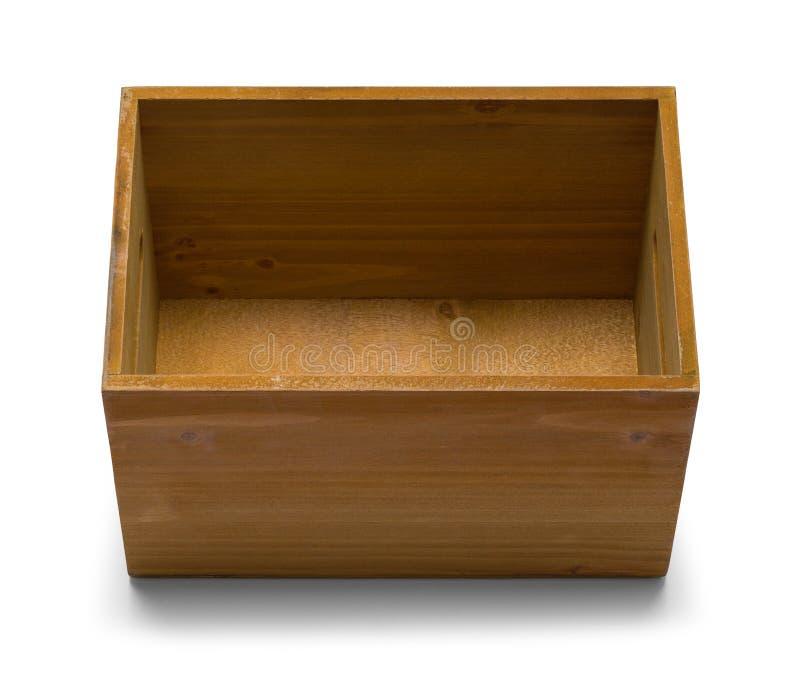 Ξύλινο κιβώτιο ανοικτό στοκ φωτογραφία με δικαίωμα ελεύθερης χρήσης