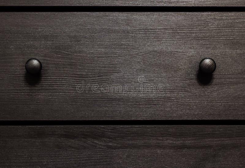 Ξύλινο κιβώτιο σύστασης υποβάθρου με τις λαβές στοκ εικόνες