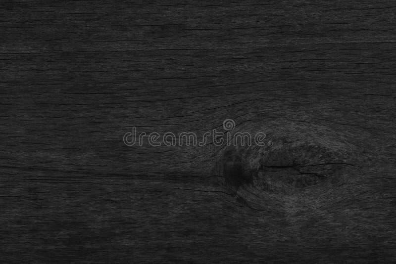 Ξύλινο μαύρο επιτραπέζιο υπόβαθρο σκοτεινό τοπ κενό σύστασης για το σχέδιο στοκ εικόνες