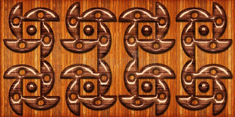 Ξύλινο σχέδιο κεραμιδιών ξύλινες γεωμετρικές μορφές, ξύλινο κεραμίδι πατωμάτων Υψηλός - ποιοτική άνευ ραφής ρεαλιστική σύσταση Γι απεικόνιση αποθεμάτων