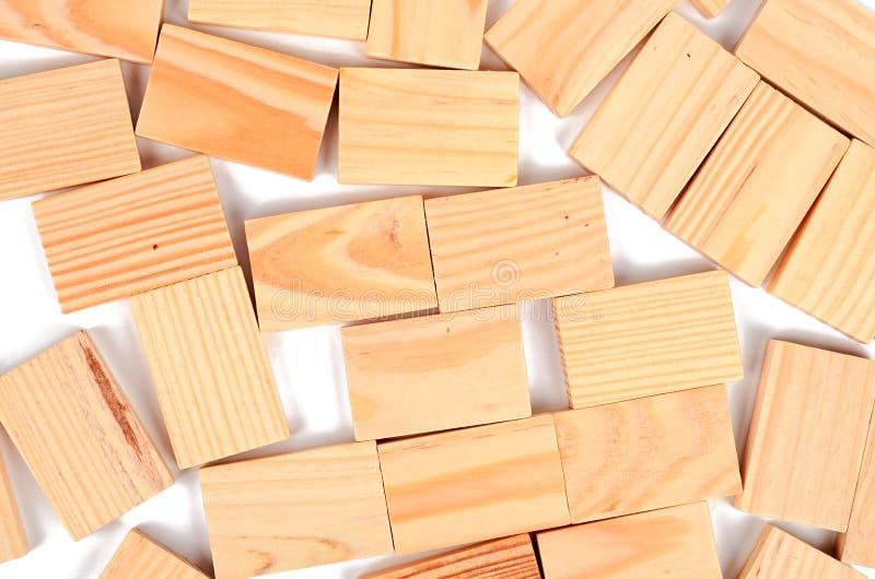 Ξύλινο τούβλο στοκ εικόνες με δικαίωμα ελεύθερης χρήσης