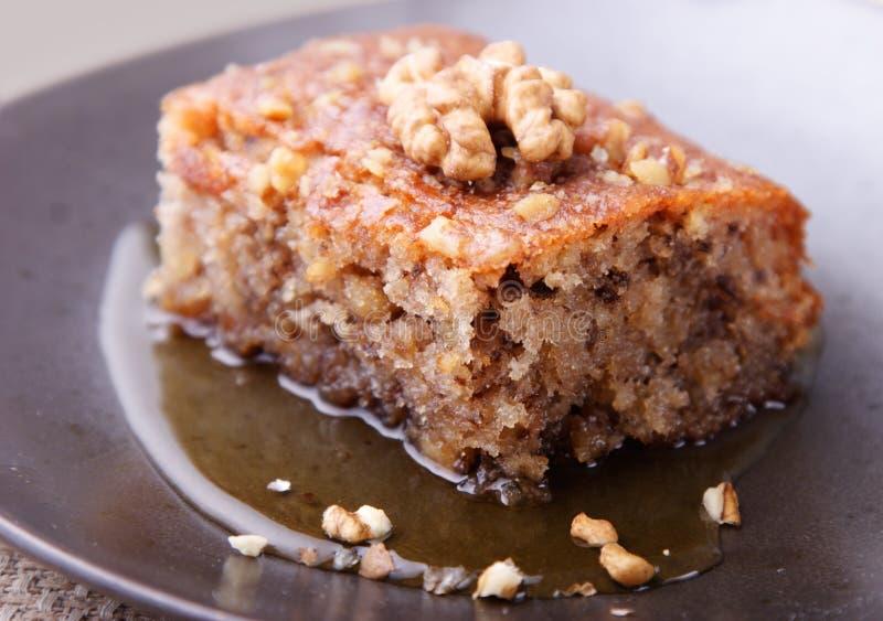 ξύλο καρυδιάς κέικ στοκ φωτογραφίες με δικαίωμα ελεύθερης χρήσης