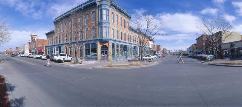 Ξύλο καρυδιάς και οδός Linden στοκ φωτογραφία