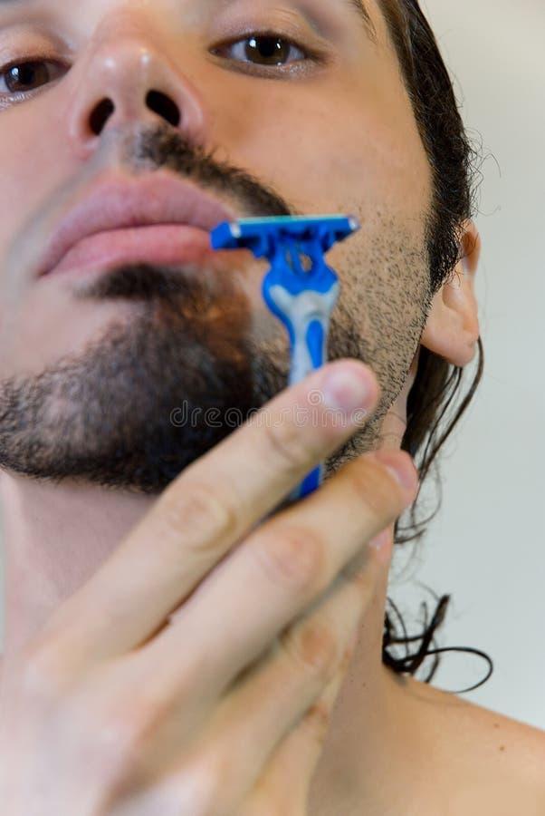 ξύρισμα ατόμων στοκ εικόνα με δικαίωμα ελεύθερης χρήσης