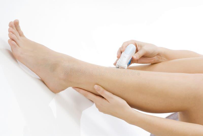 Download ξύρισμα ποδιών στοκ εικόνες. εικόνα από εξευγενίστε, καλλυντικά - 2227638