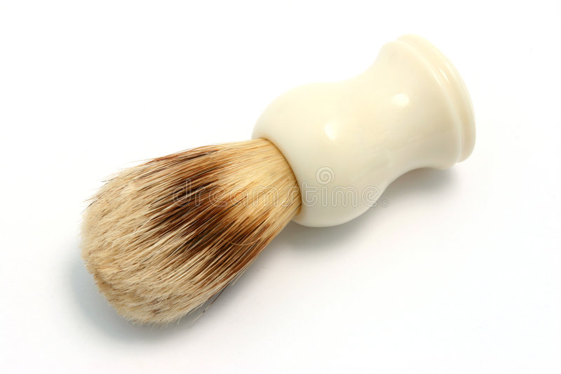 ξύρισμα 2 βουρτσών στοκ φωτογραφία με δικαίωμα ελεύθερης χρήσης