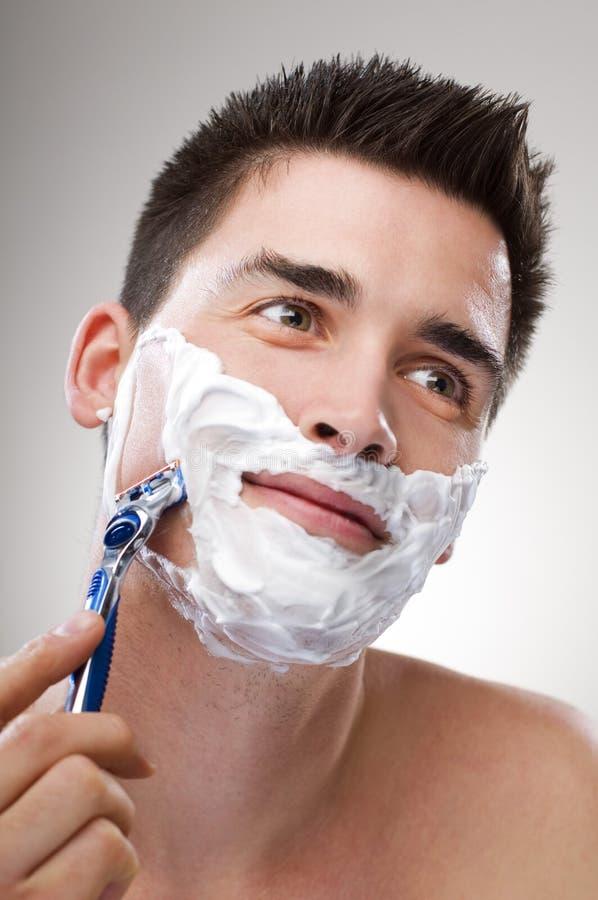 ξύρισμα στοκ εικόνα με δικαίωμα ελεύθερης χρήσης
