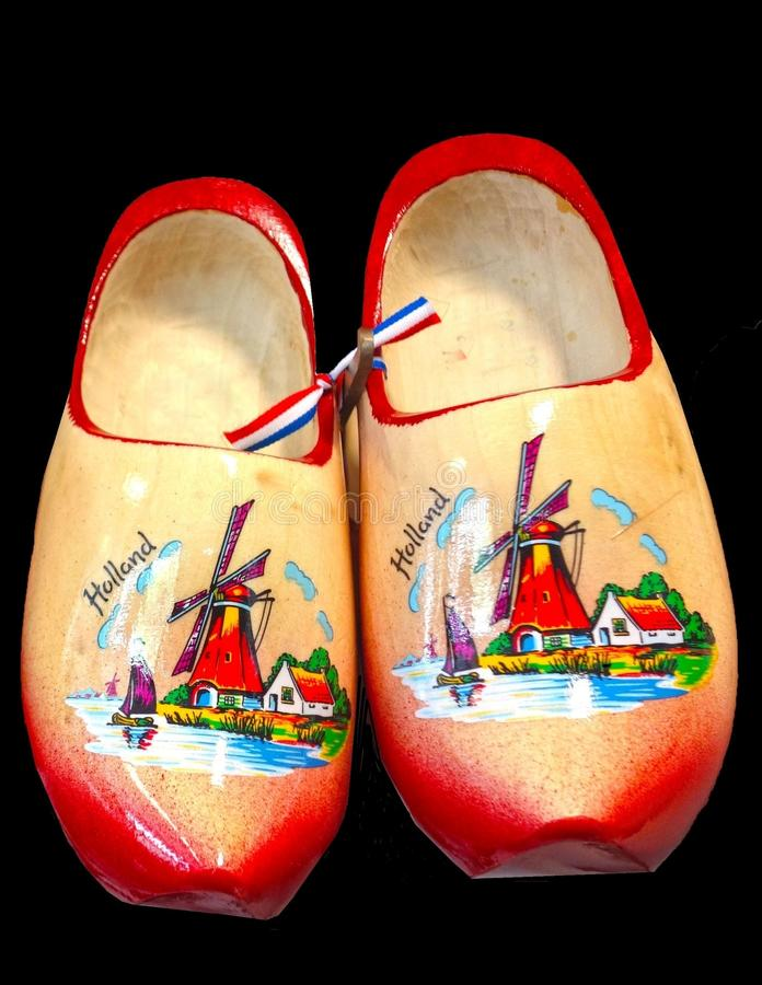 Ξύλινα παπούτσια στοκ φωτογραφία με δικαίωμα ελεύθερης χρήσης