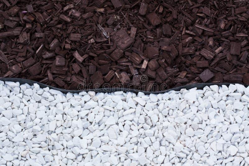 Ξύλινες συστάσεις βράχων αμμοχάλικου στοκ φωτογραφία με δικαίωμα ελεύθερης χρήσης