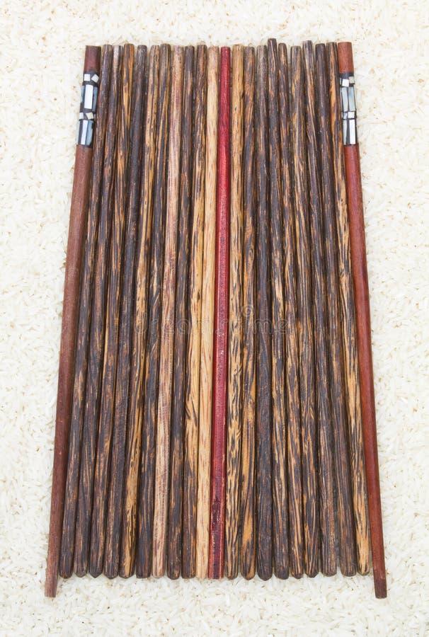 Ξύλινα chopsticks στοκ φωτογραφία με δικαίωμα ελεύθερης χρήσης