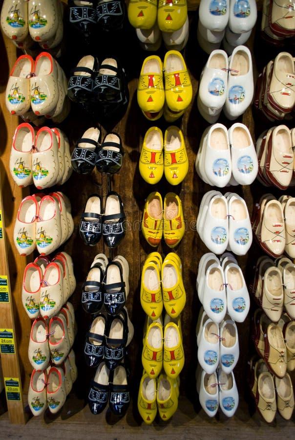 Ξύλινη έκθεση παπουτσιών, Ολλανδία στοκ φωτογραφίες με δικαίωμα ελεύθερης χρήσης
