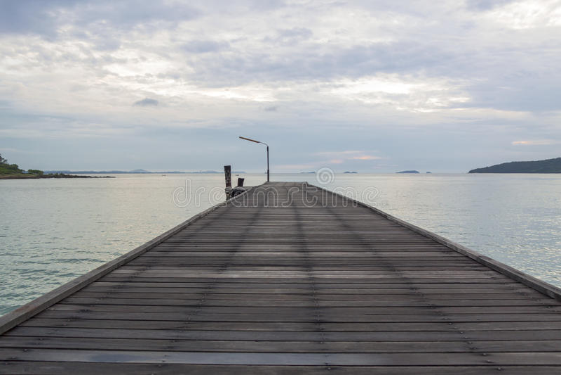 Ξύλινη γέφυρα στοκ φωτογραφίες με δικαίωμα ελεύθερης χρήσης