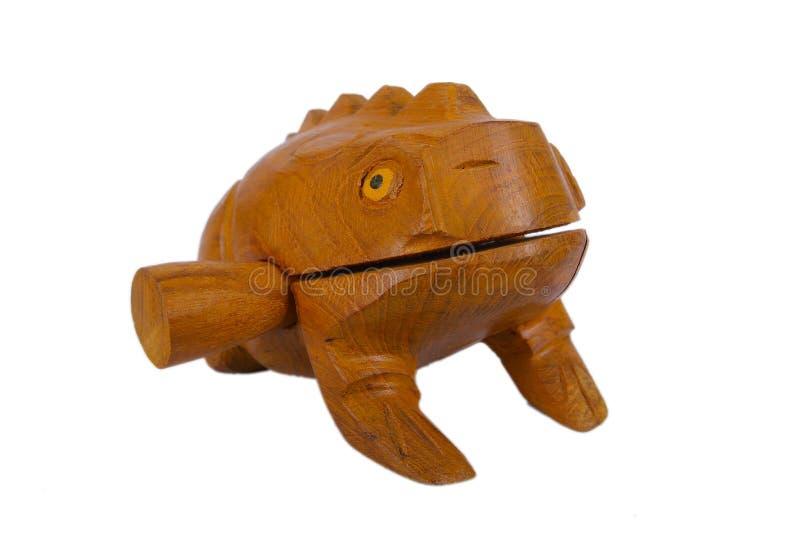Ξύλινος βάτραχος στοκ φωτογραφίες