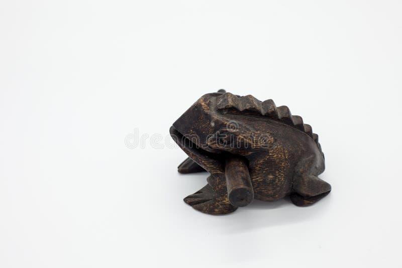 Ξύλινος βάτραχος στοκ φωτογραφίες με δικαίωμα ελεύθερης χρήσης