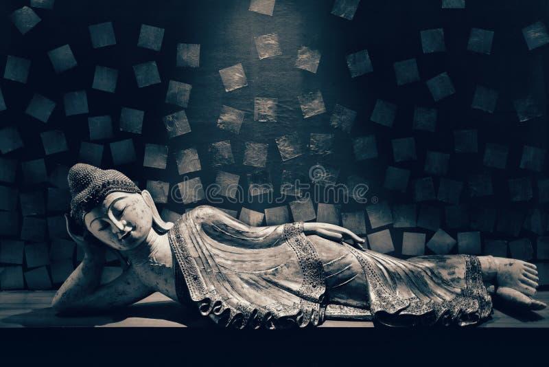 Ξύλινος  Βούδας στοκ εικόνες με δικαίωμα ελεύθερης χρήσης