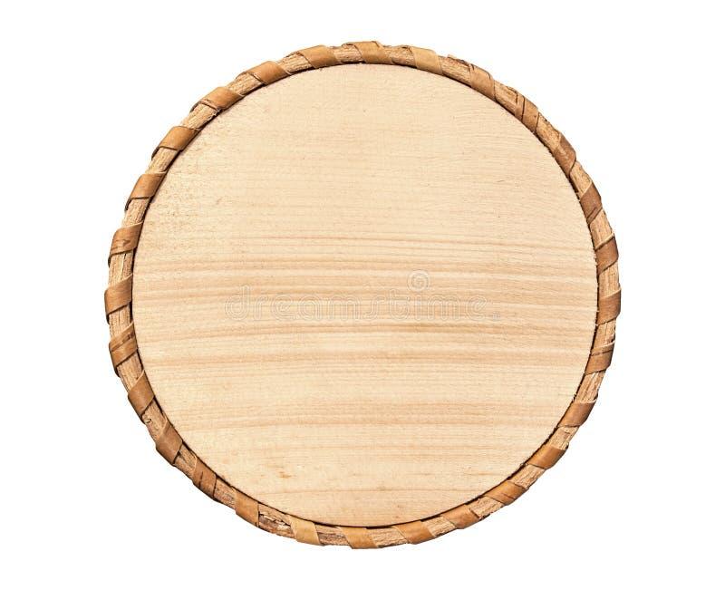 Ξύλινος κύκλος στοκ εικόνες