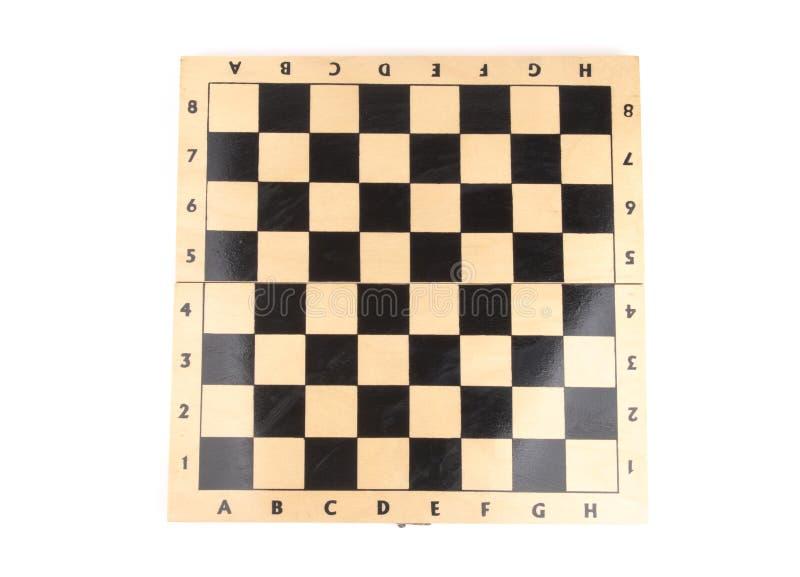 Ξύλινος πίνακας σκακιού στοκ φωτογραφίες