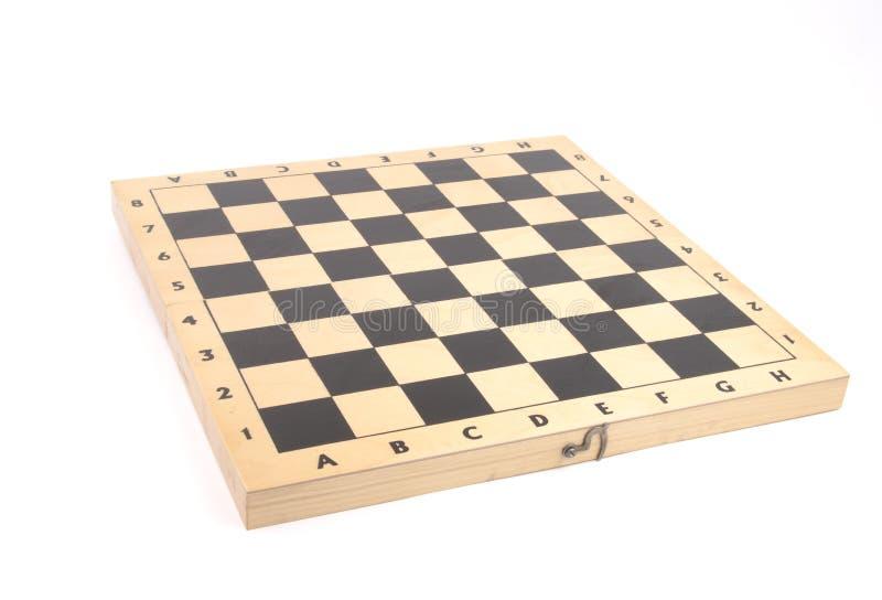 Ξύλινος πίνακας σκακιού στοκ εικόνες