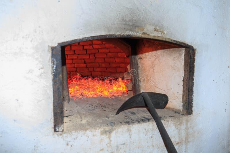 Ξύλινος φούρνος στοκ φωτογραφίες με δικαίωμα ελεύθερης χρήσης